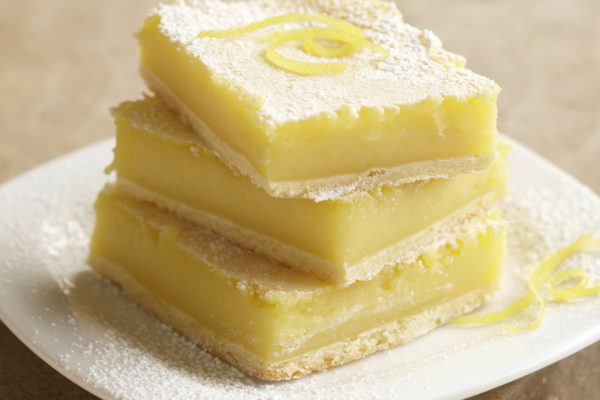 delicious lemon bars