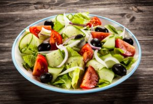 healthy salad recipes for work