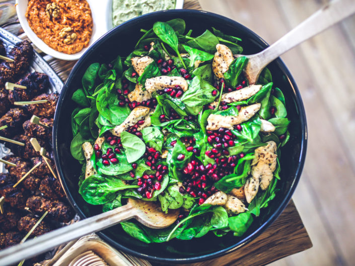 healthy salad lunch recipes