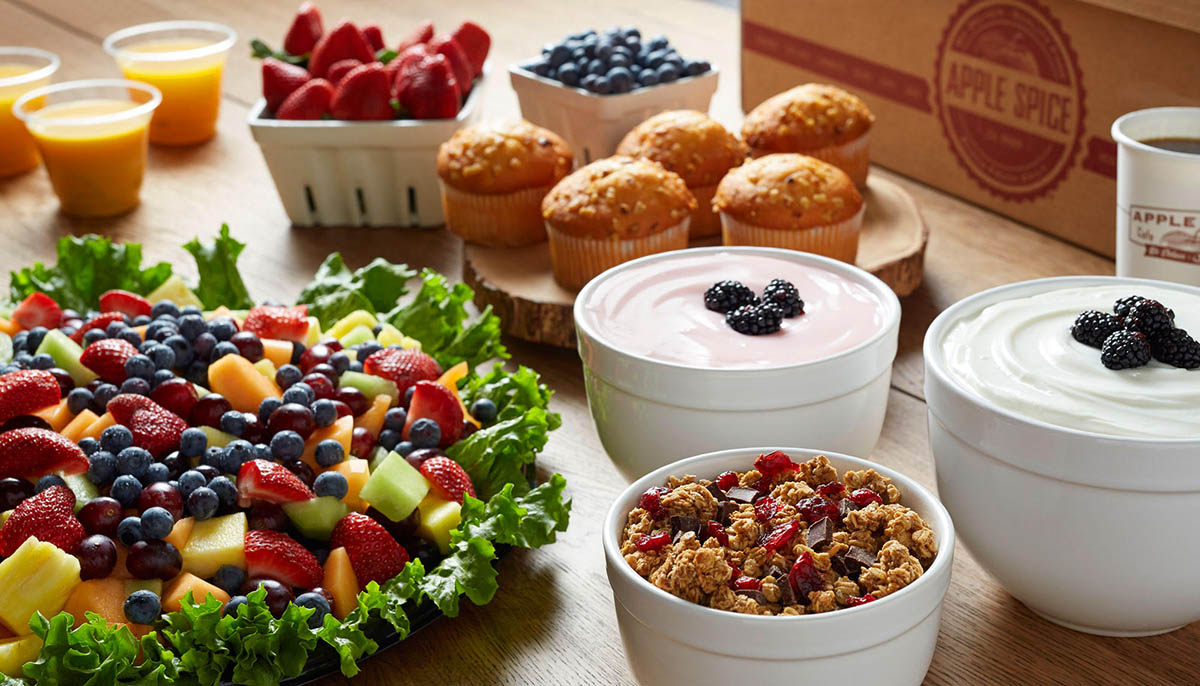 morning catering events ideas
