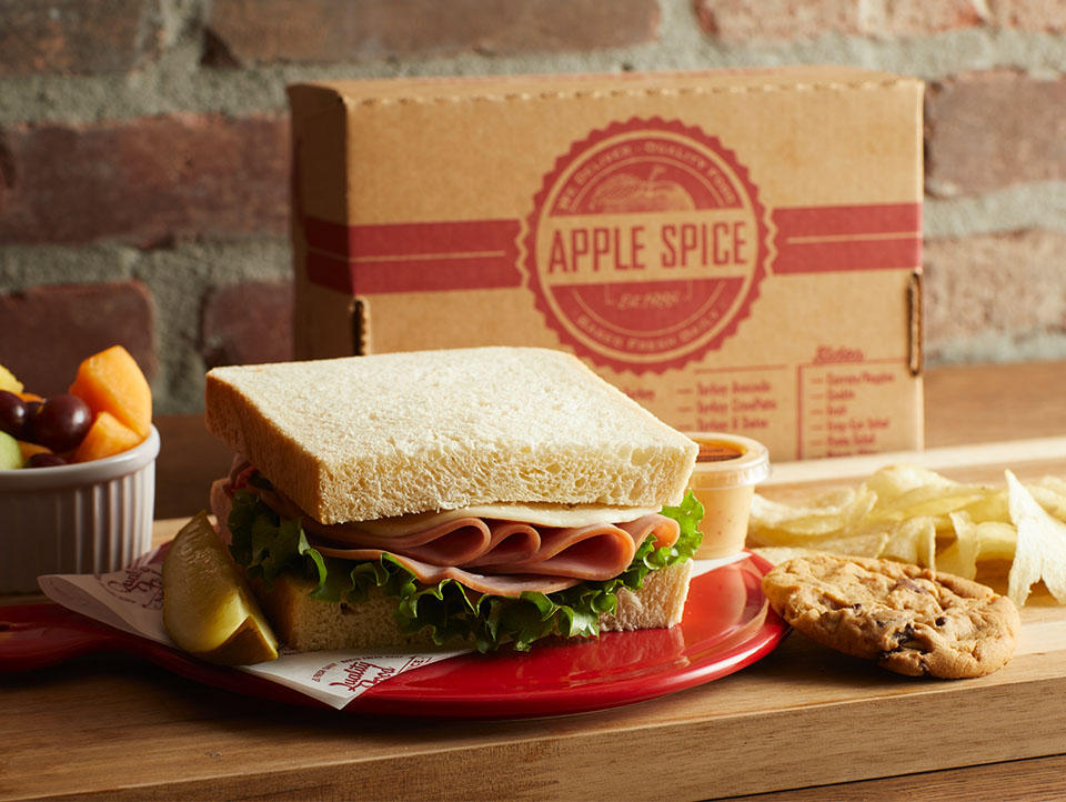 box lunch sandwich delivery