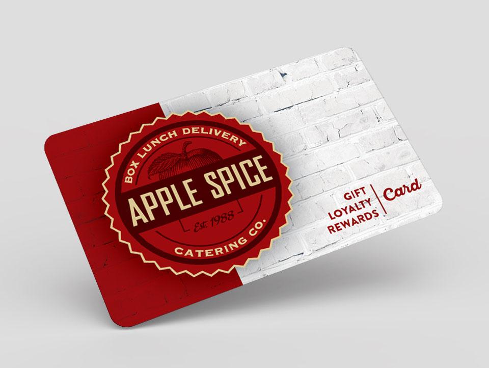 apple spice rewards card