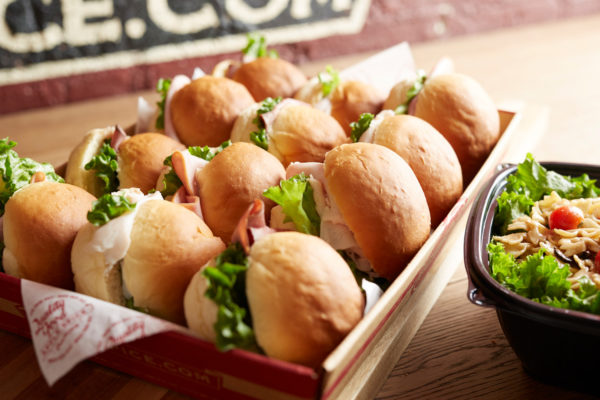 small sandwiches light combo