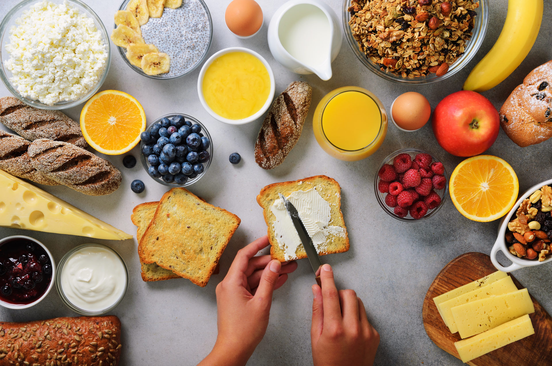 breakfast catering menu houston tx