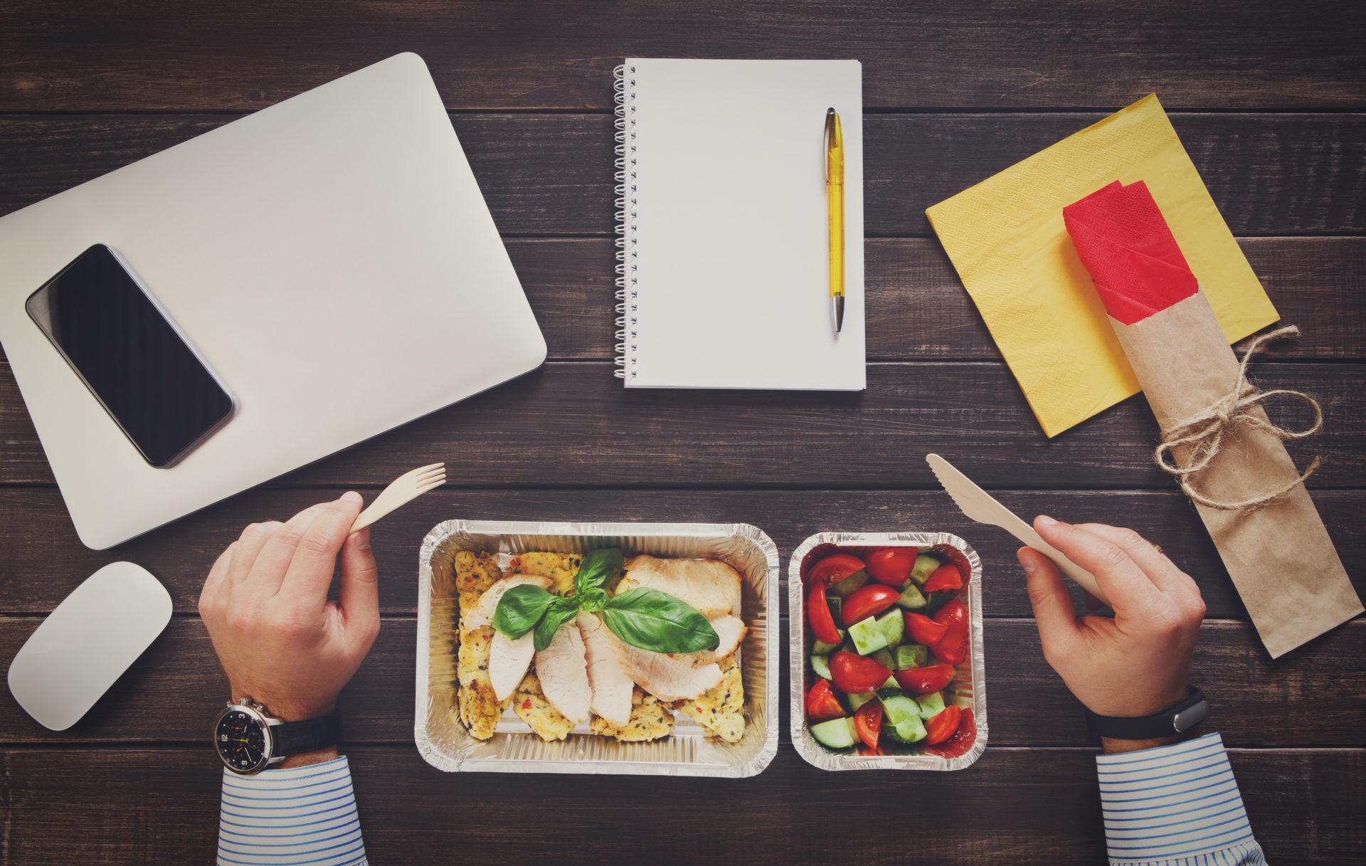 office lunch box menu