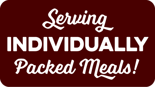 serving individually packed meals