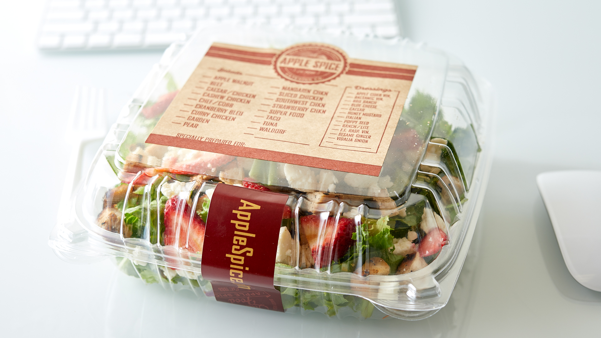 Apple Spice Individually Packaged Salad for Catered Office Events